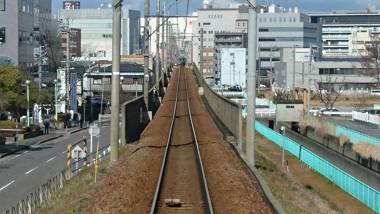 2017.2.10 三河線 (26) 猿投いきふつう - 豊田市てまえ 1280-720