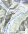 須原トンネルの位置図(あきひこ)