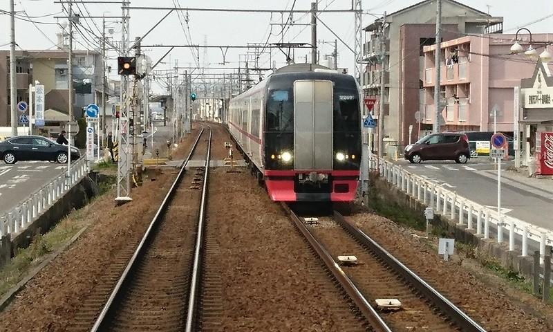 2017.3.12 名古屋 (9) 岐阜いき特急 - しんあんじょうすぎ 800-480