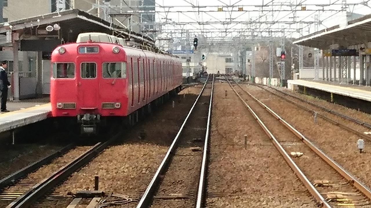2017.3.12 名古屋 (13) 岐阜いき特急 - 堀田(一宮いき急行) 1280-720