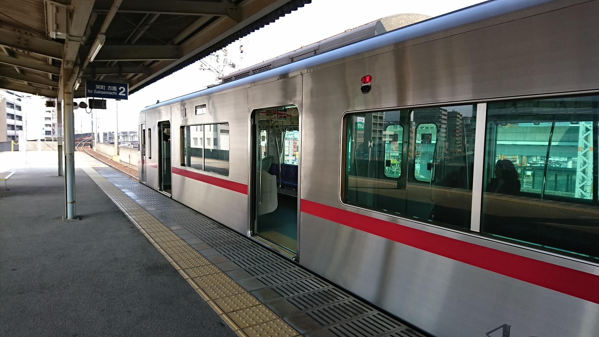 2017.3.12 名古屋 (28) 大曽根 - 栄町いきふつう 1920-1080