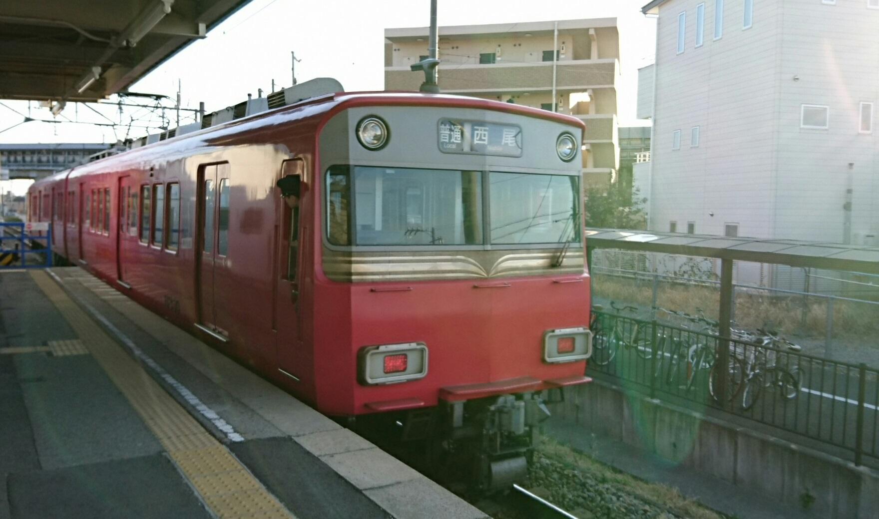 2017.3.12 名古屋 (50) 古井 - 西尾いきふつう 1760-1040