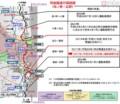 常磐線運行再開図〔原ノ町-広野〕(国土交通省)