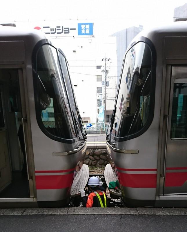 2017.3.14 (3) しんあんじょう - 弥富いき急行の連結 1080-1340