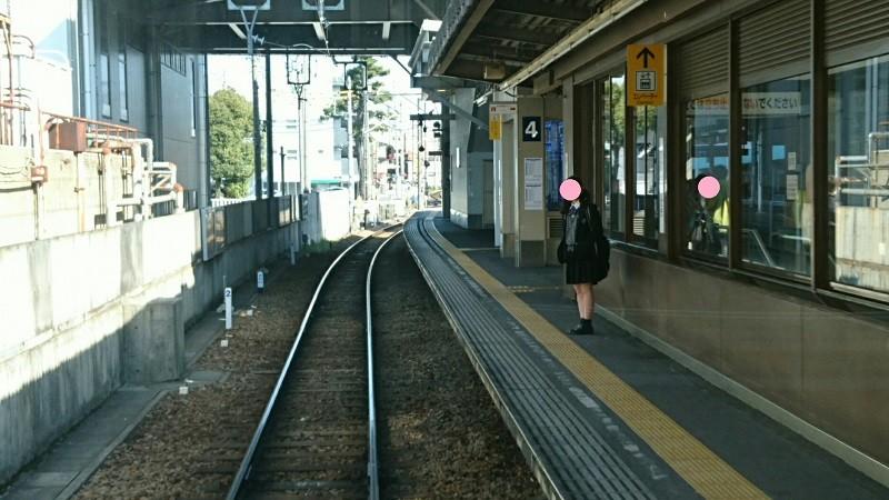 2017.3.16 名古屋本線 (9) 東岡崎いきふつう - 東岡崎 800-450