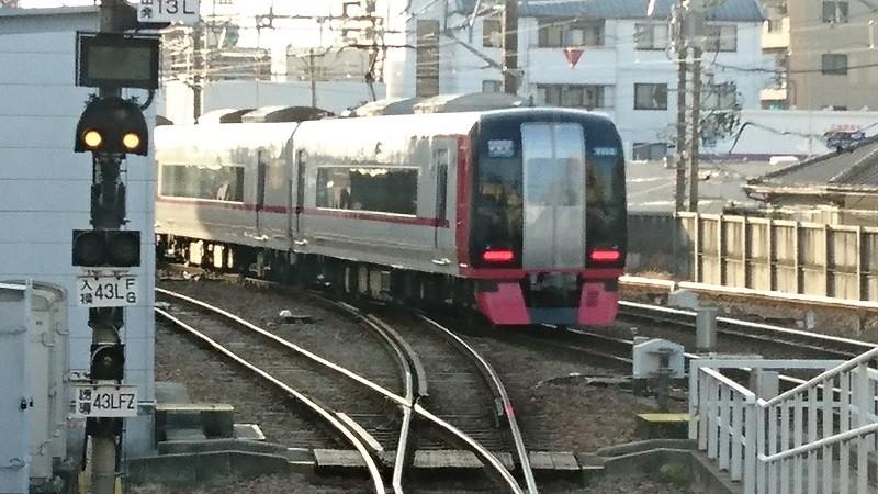 2017.3.16 名古屋本線 (13) 東岡崎 - 新鵜沼いき快速特急 800-450