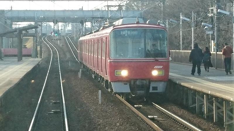 2017.3.16 名古屋本線 (14) 犬山いきふつう - 岡崎公園前(東岡崎いきふつ