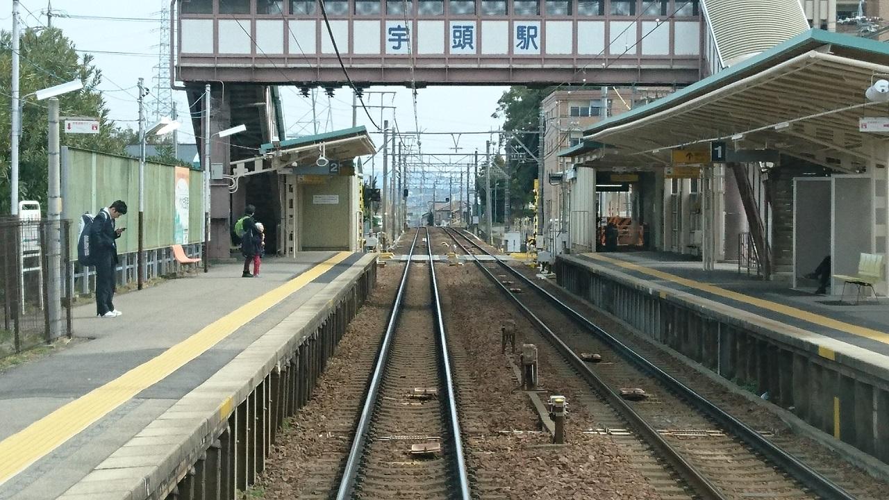 2017.3.18 古井から美合まで (12) 東岡崎いきふつう - 宇頭 1280-720
