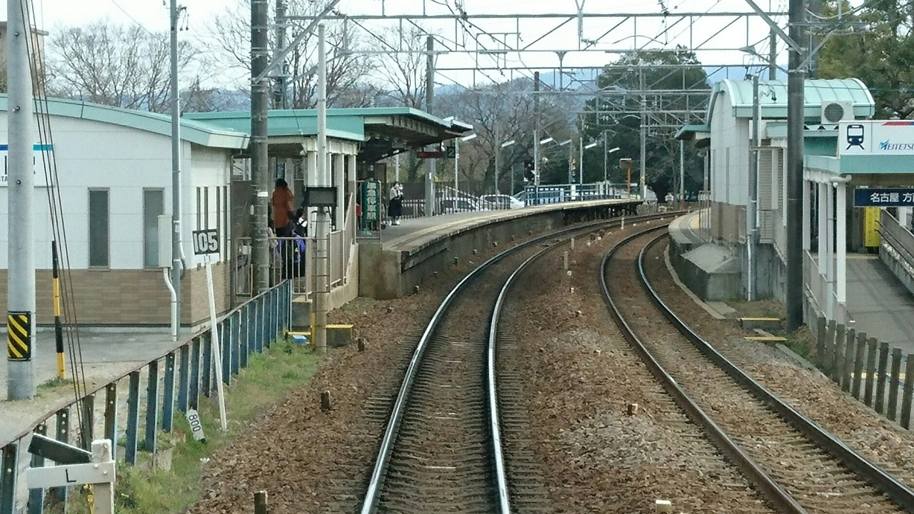 2017.3.18 古井から美合まで (22) 伊奈いきふつう - 男川 1280-720