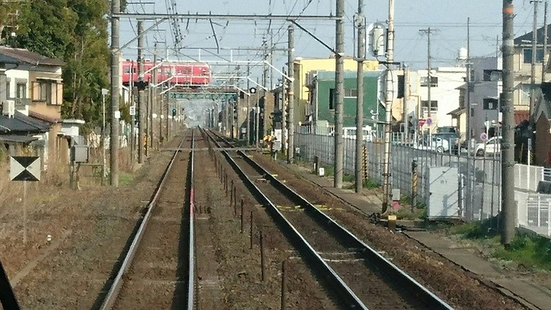 2017.3.23 東海道線 (3) 豊橋いき快速 - 東稲荷ふみきり 800-450