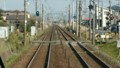 2017.3.23 東海道線 (9) 豊橋いき快速 - 第2山崎ふみきり 800-450