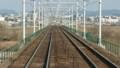 2017.3.23 東海道線 (16) 豊橋いき快速 - 矢作川をわたる 800-450