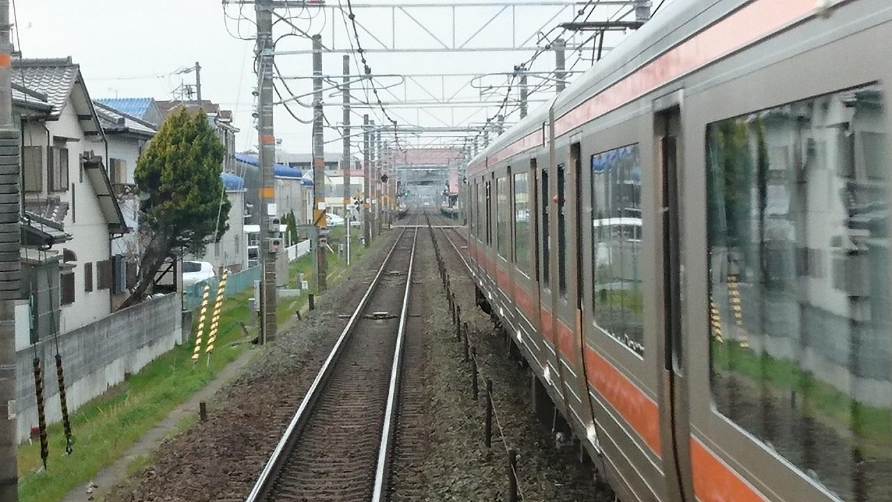 2017.3.25 東海道線 (9) 岐阜いきふつう - 西岡崎てまえ(岡崎いきふつう) 1280-720