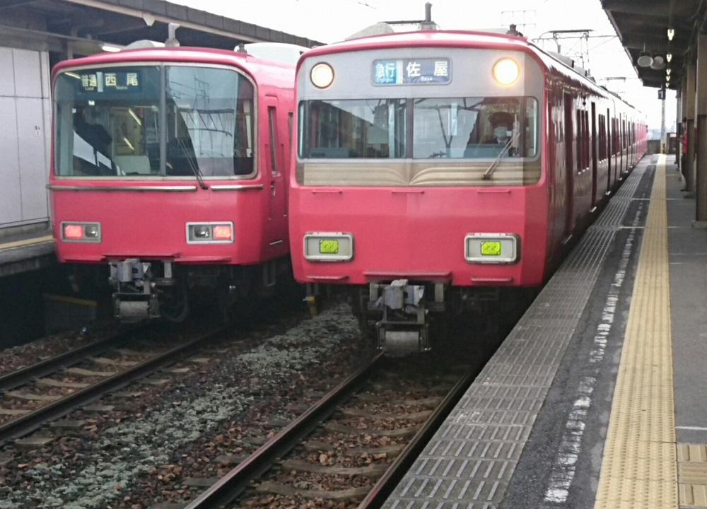 2017.3.26 名鉄 (2) みなみあんじょう - 佐屋いき急行 1000-720