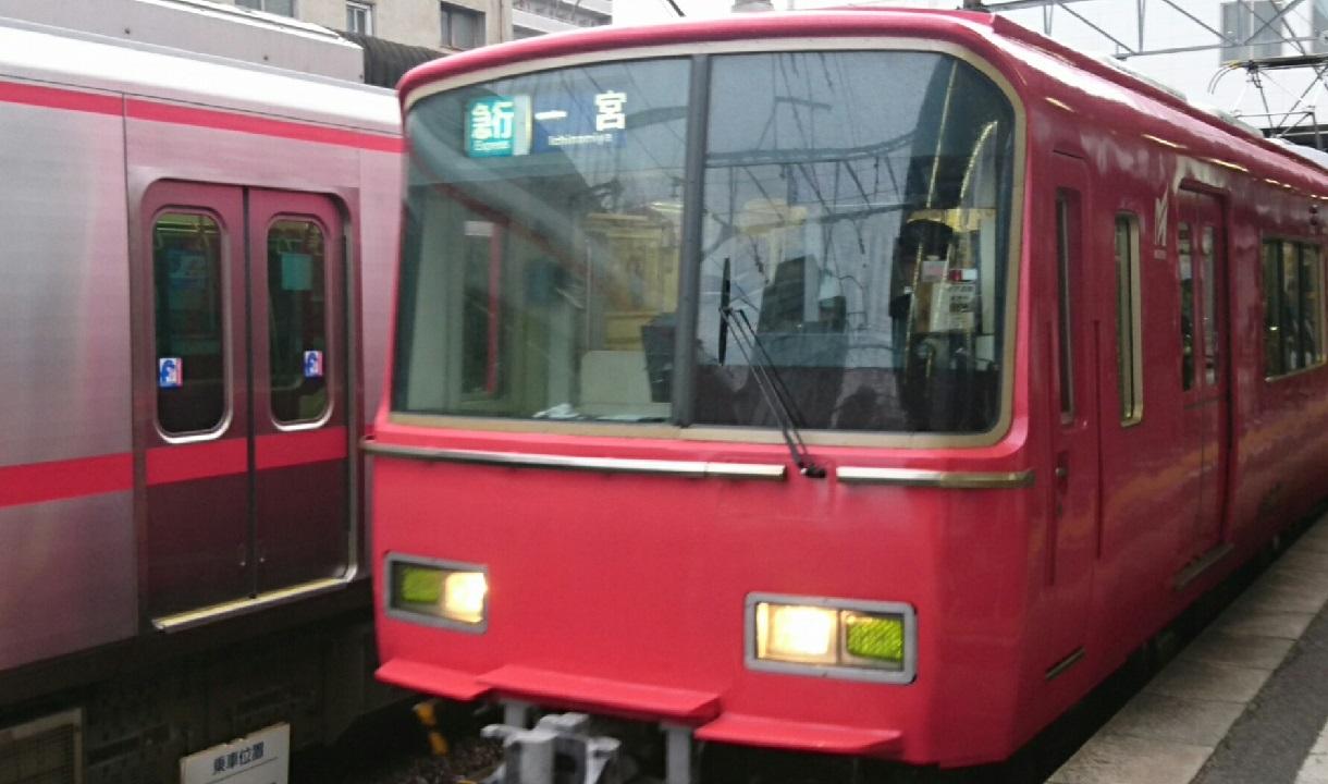 2017.3.26 名鉄 (21) 東岡崎 - 一宮いき急行 1220-720