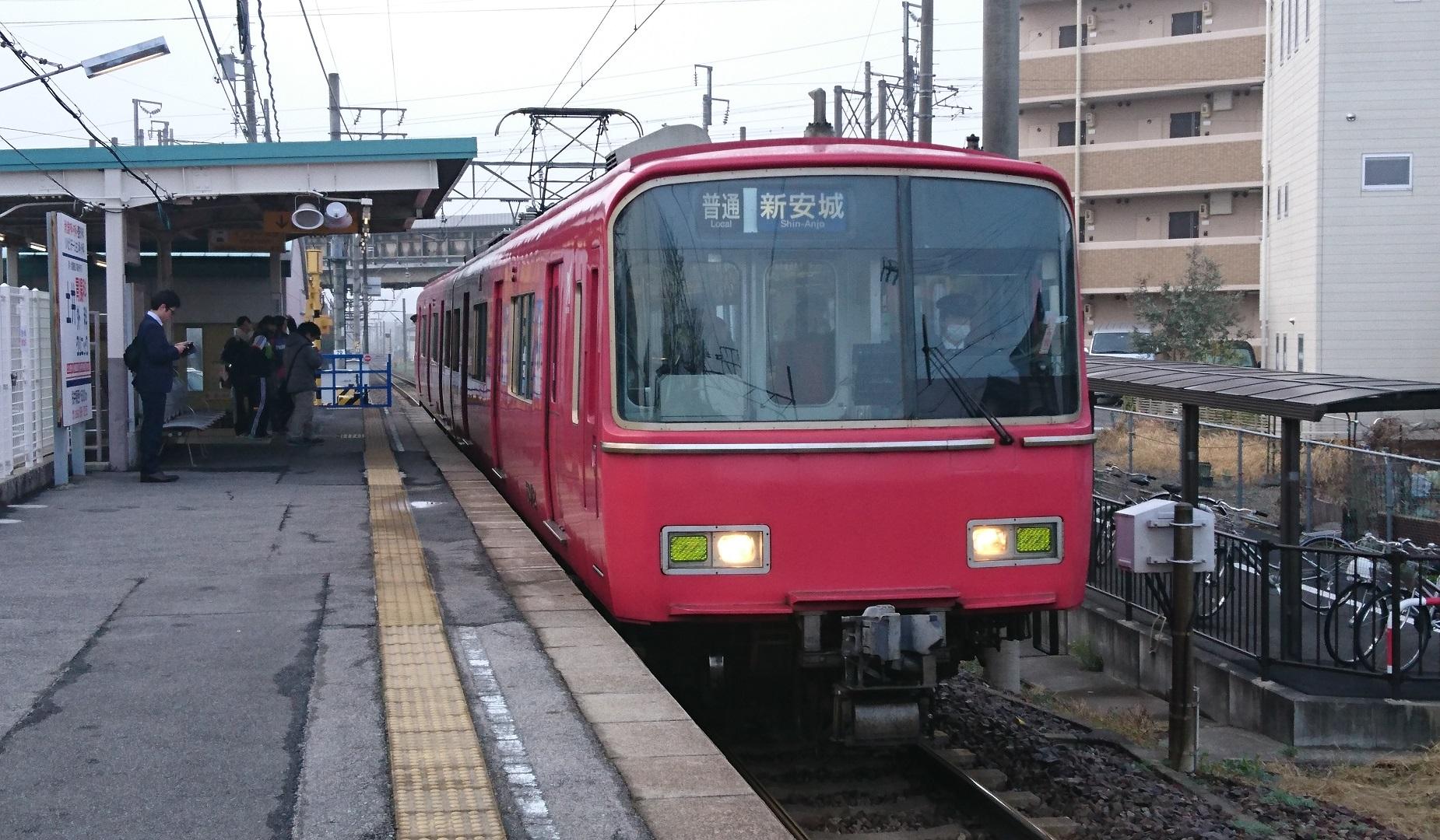 2017.4.2 名鉄 (1) 古井 - しんあんじょういきふつう 1850-1080