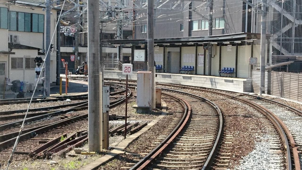 2017.4.2 嵐電 (18) 西院 1280-720