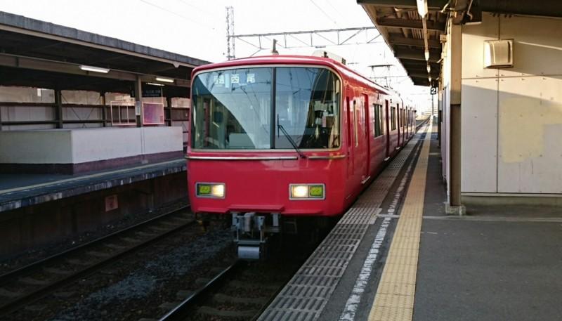 2017.4.2 名鉄 (8) みなみあんじょう - 西尾いきふつう 1260-720
