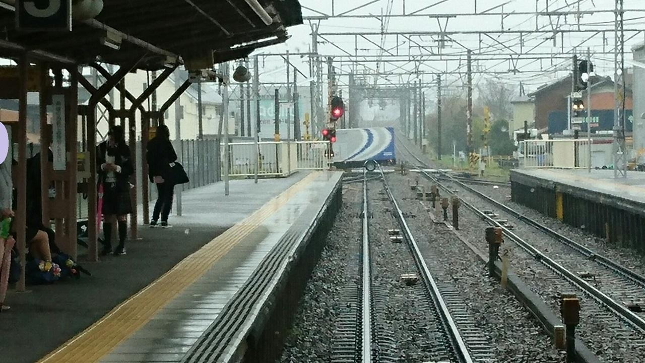 2017.4.11 名鉄 (6) 東岡崎いきふつう - 矢作橋 1280-720