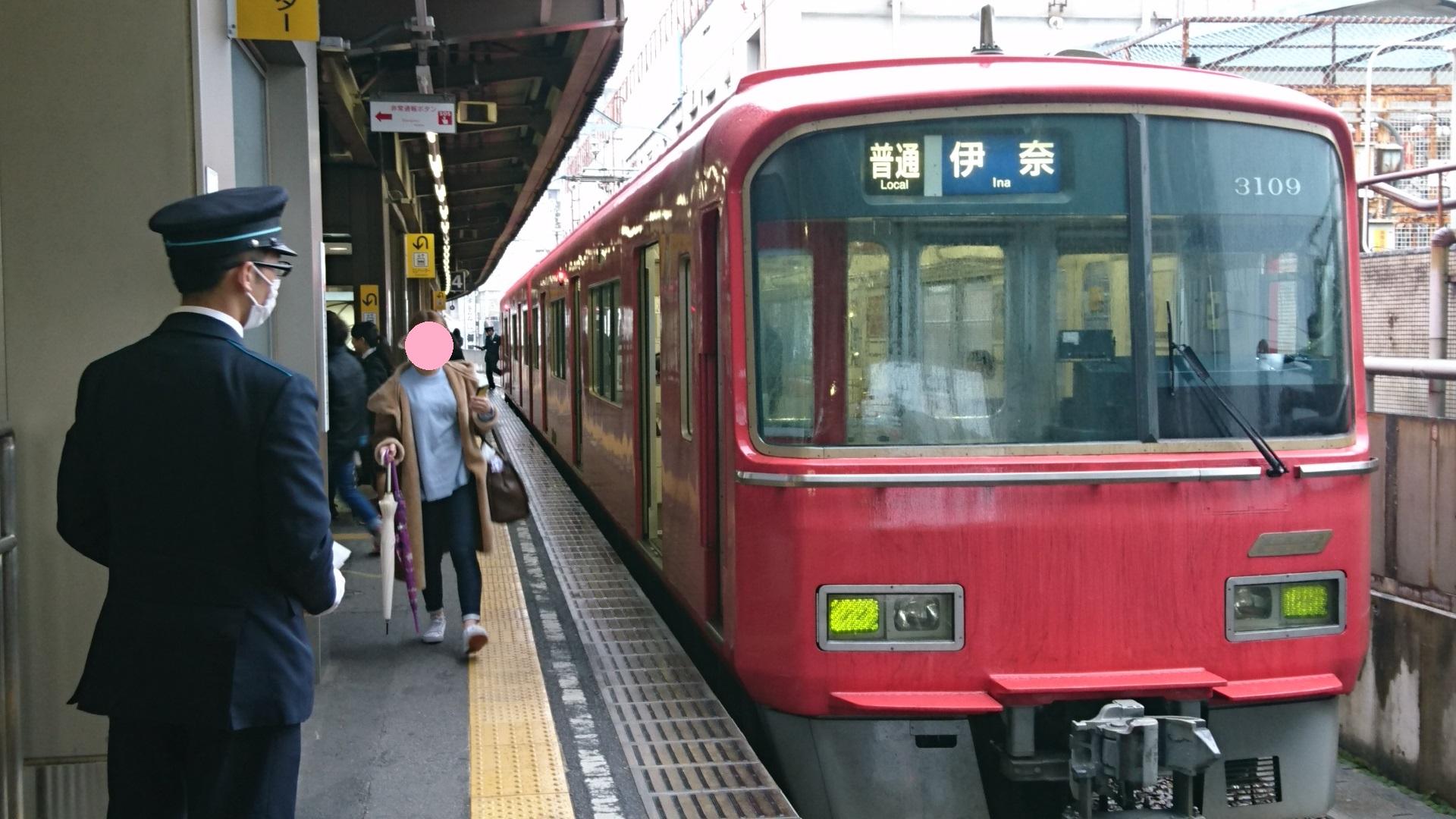 2017.4.11 名鉄 (9) 東岡崎 - 伊奈いきふつう 1920-1080