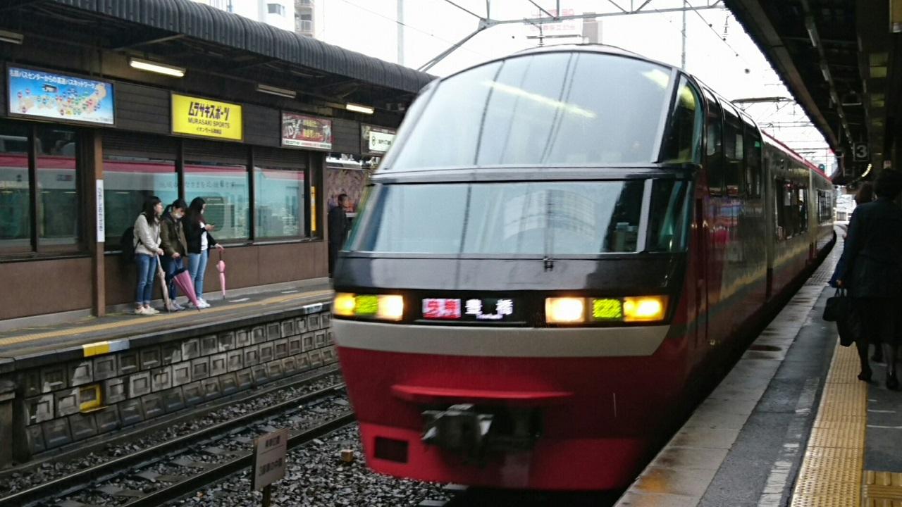 2017.4.11 名鉄 (10) 東岡崎 - 豊橋いき快速特急 1280-720
