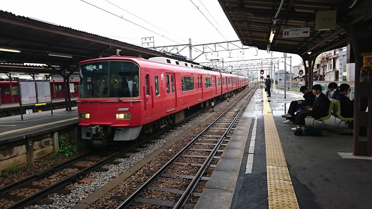 2017.4.11 名鉄 (19) しんあんじょう - 佐屋いき急行 1280-720