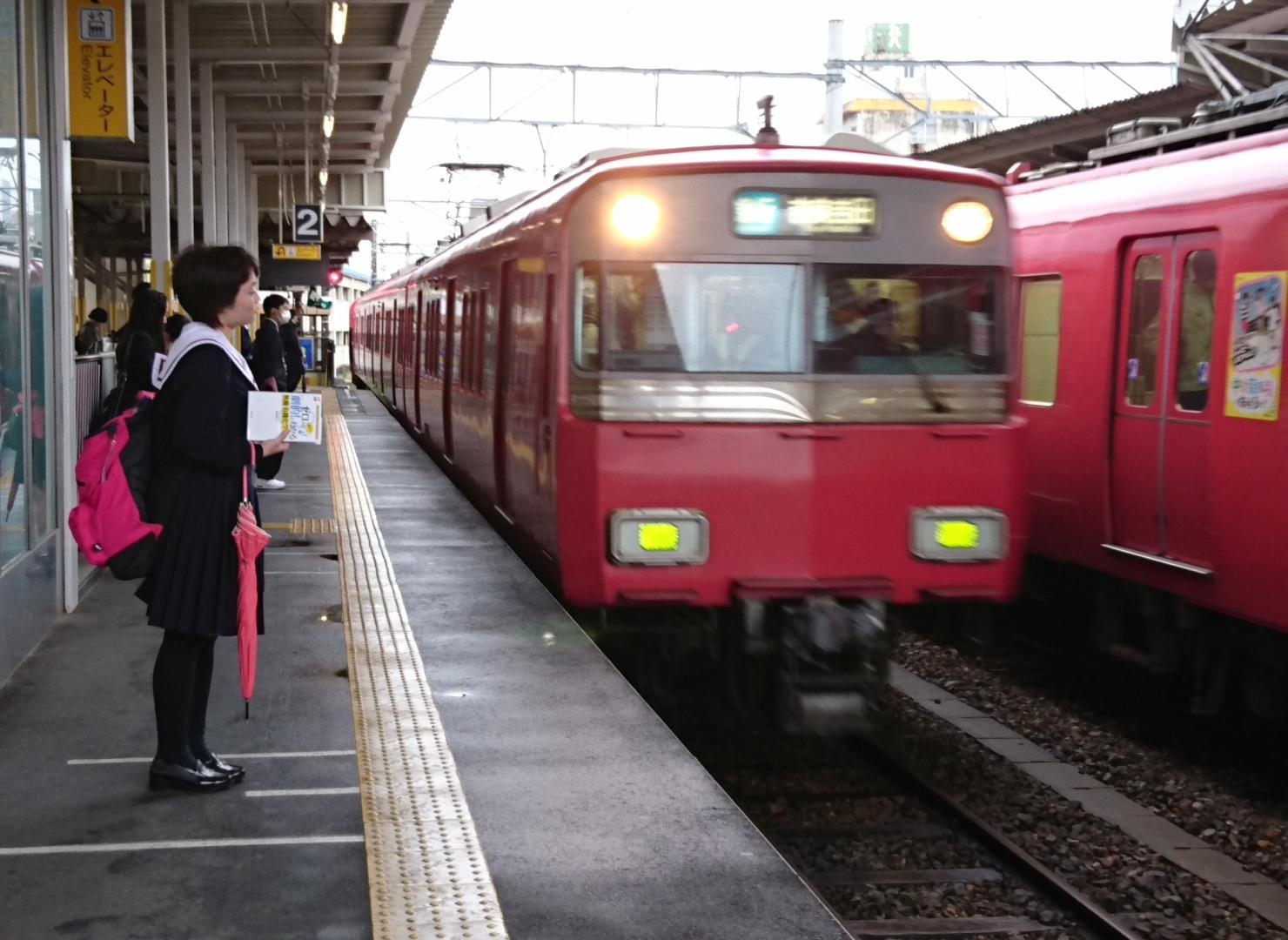 2017.4.11 しんあんじょう - 吉良吉田いき準急(岩倉いきふつう) 1480-1080