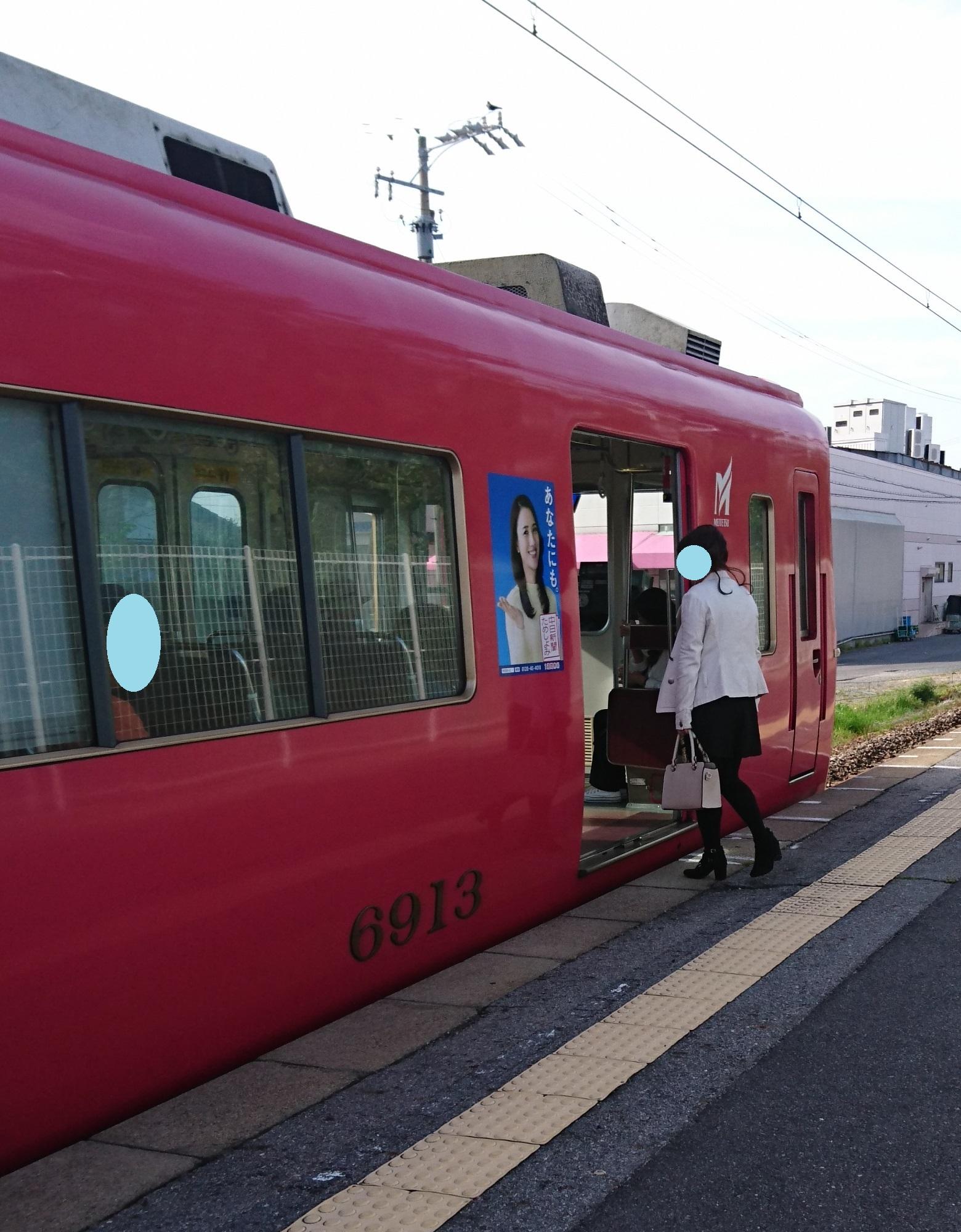 2017.4.22 名鉄 (2) 古井 - しんあんじょういきふつう 1560-2000