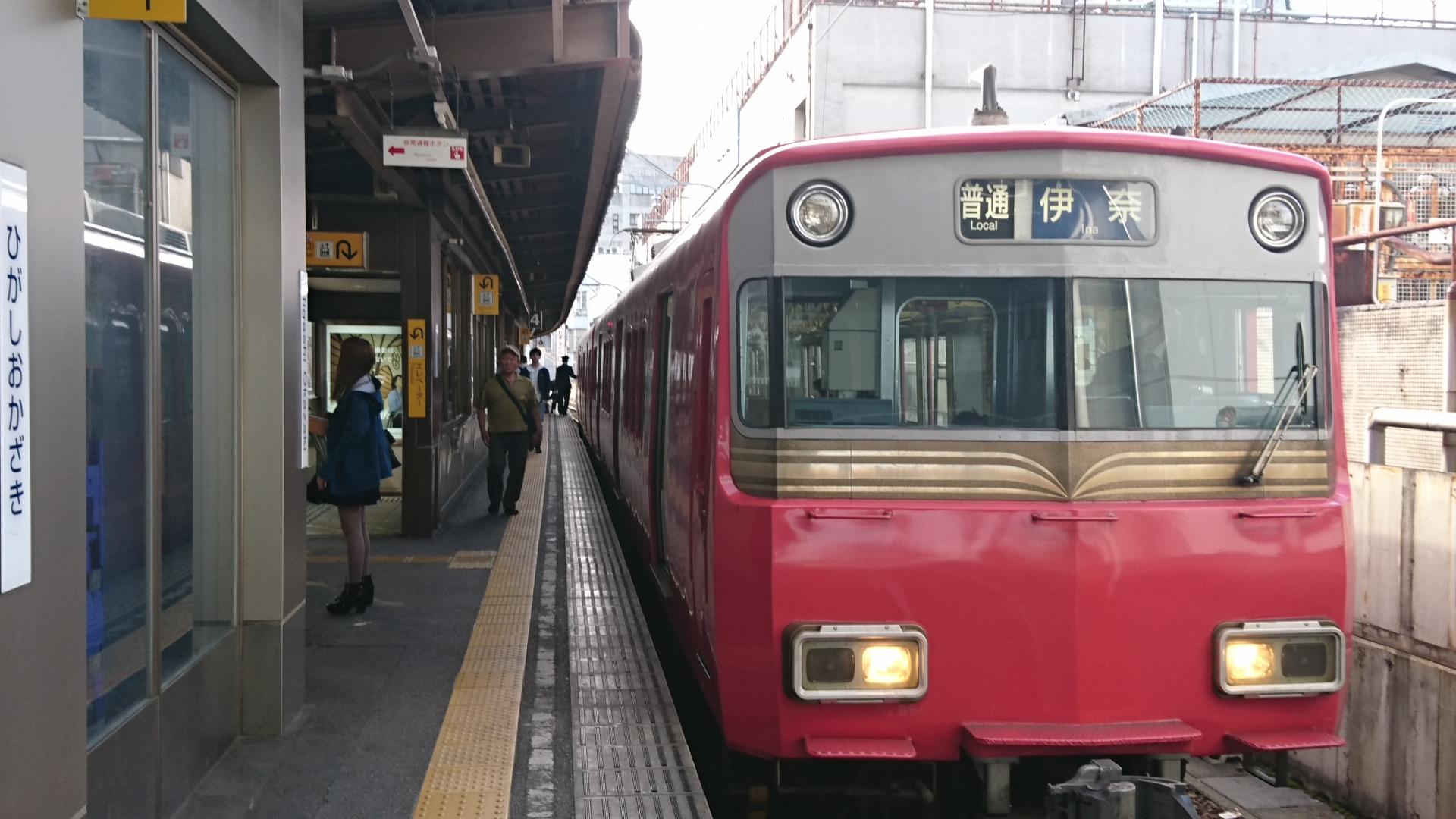 2017.4.22 名鉄 (19) 東岡崎 - 伊奈いきふつう 1920-1080