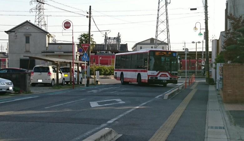 2017.4.22 名鉄 (27) 矢作橋駅 - 坂戸いきバス