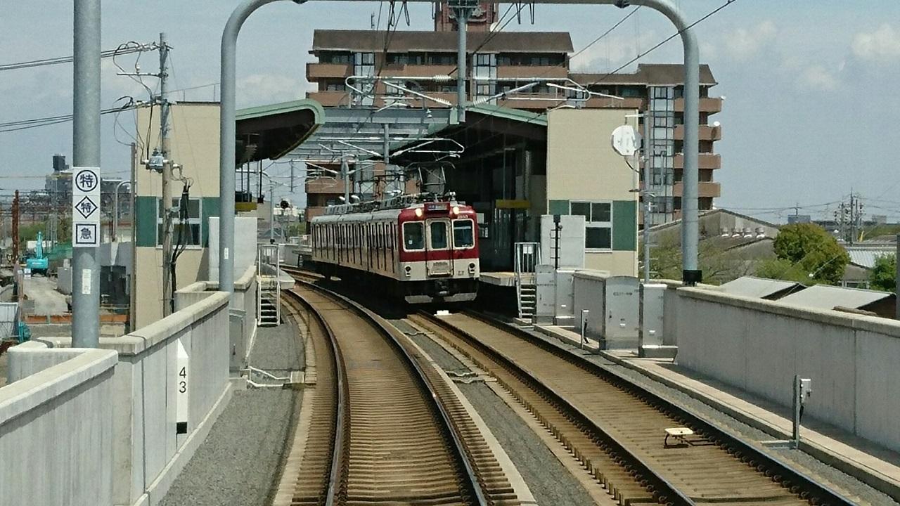 2017.4.25 川原町 (7) 名古屋いき準急 - 川原町 1280-720