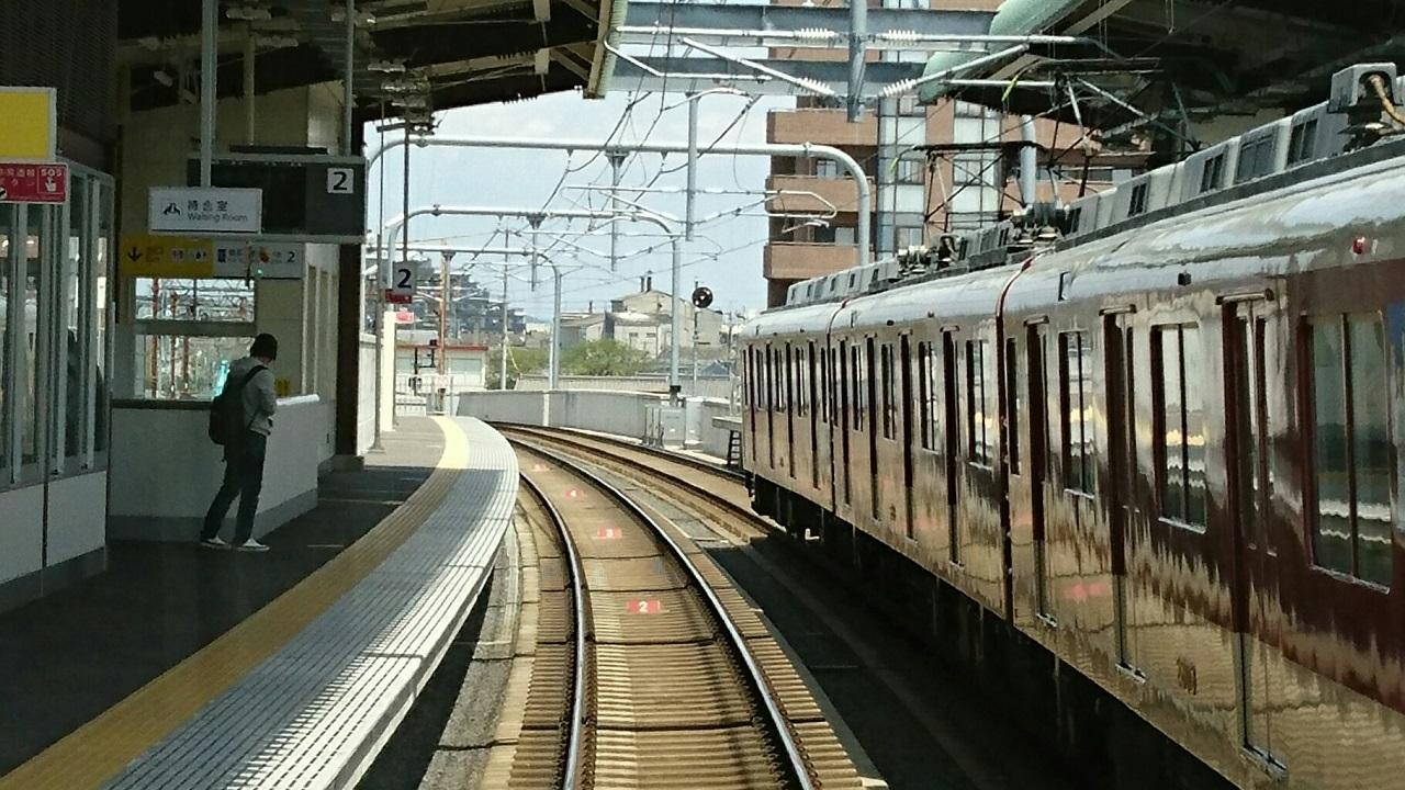 2017.4.25 川原町 (8) 名古屋いき準急 - 川原町 1280-720