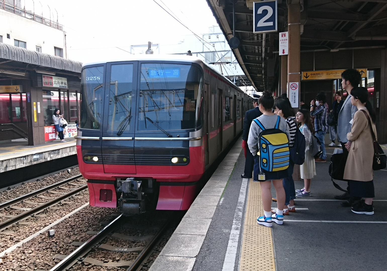 2017.5.4 (4) 東岡崎 - 一宮いき急行 1540-1080