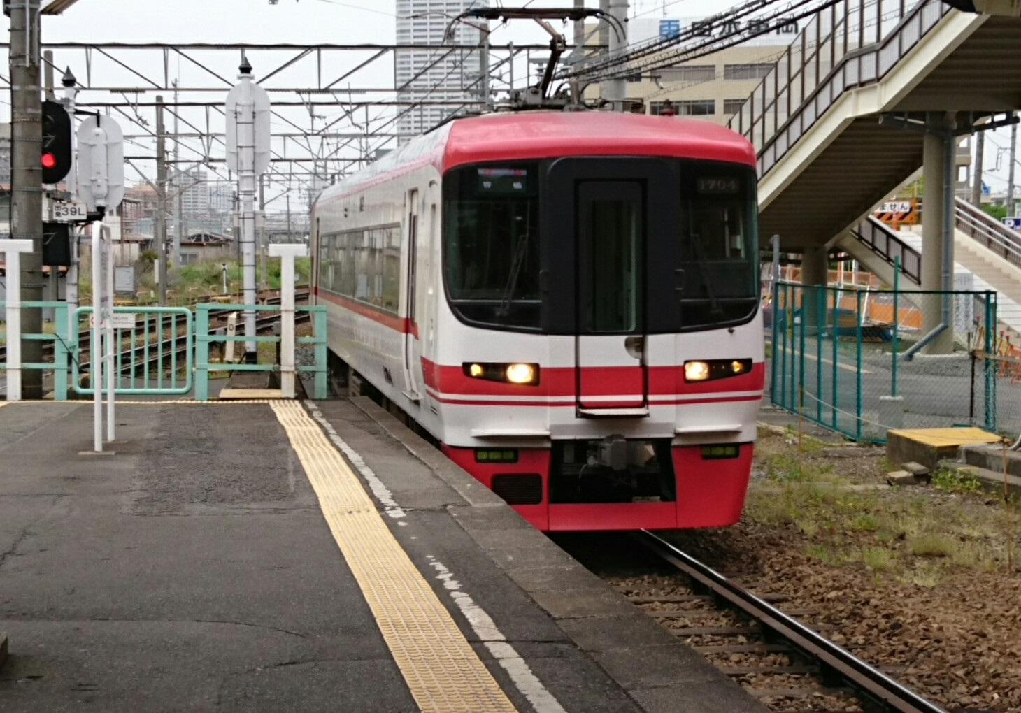 2017.5.9 名鉄 (10) 神宮前 - 豊橋いき快速特急「1700系」 1460-1020
