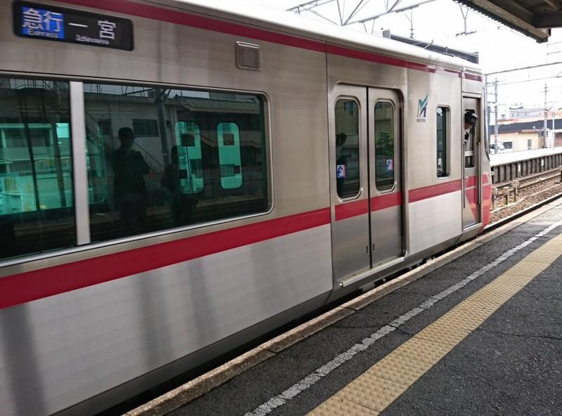 2017.5.14 名古屋 (4) しんあんじょう - 一宮いき急行 1460-1080