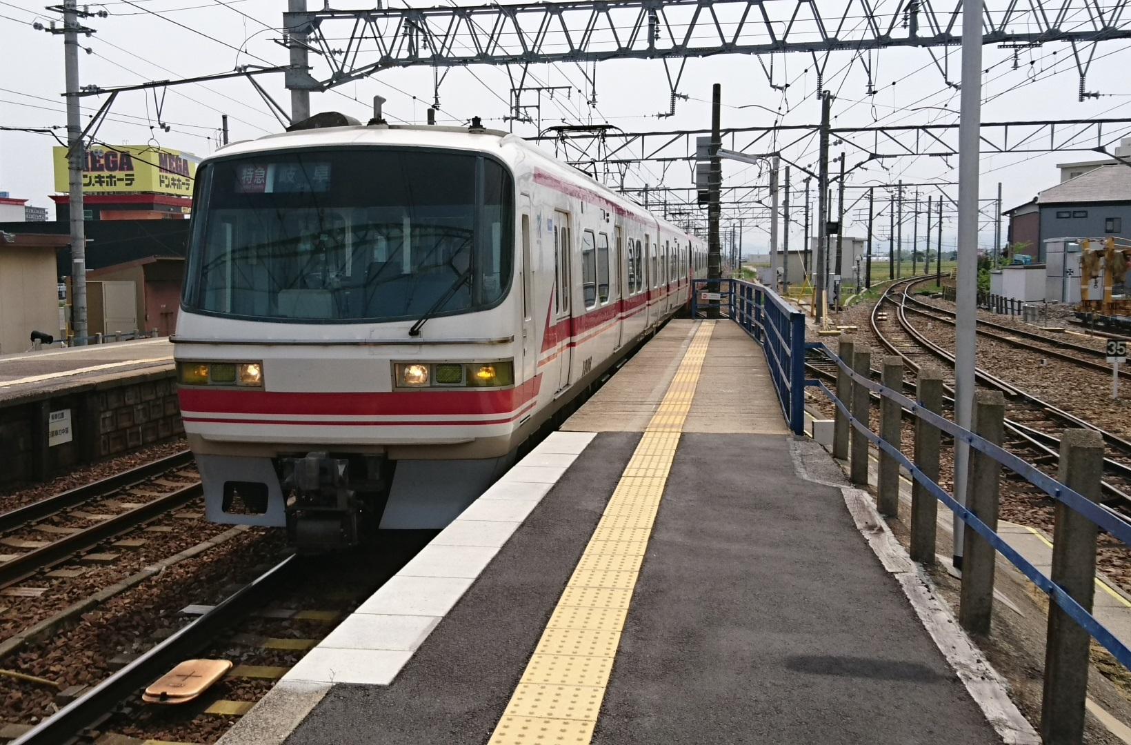 2017.5.14 名古屋 (5) しんあんじょう - 岐阜いき特急 1640-1080