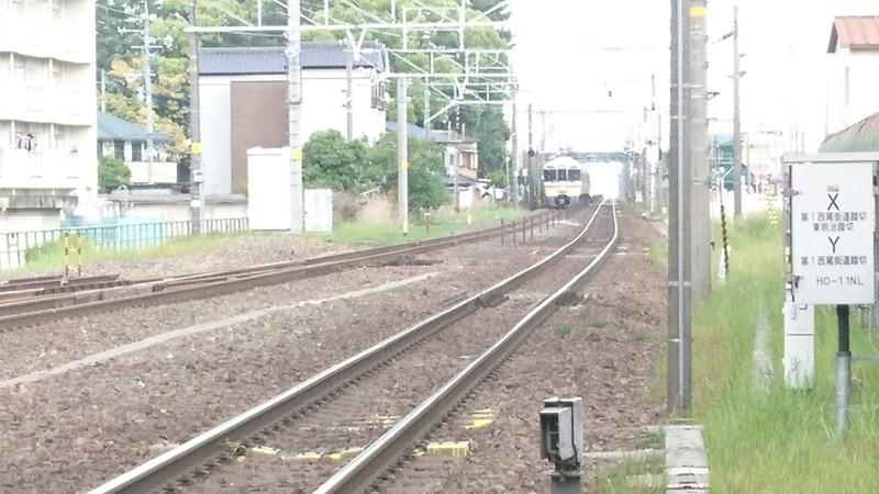 2017.5.15 第1西尾街道ふみきり (5) 事故にあった電車