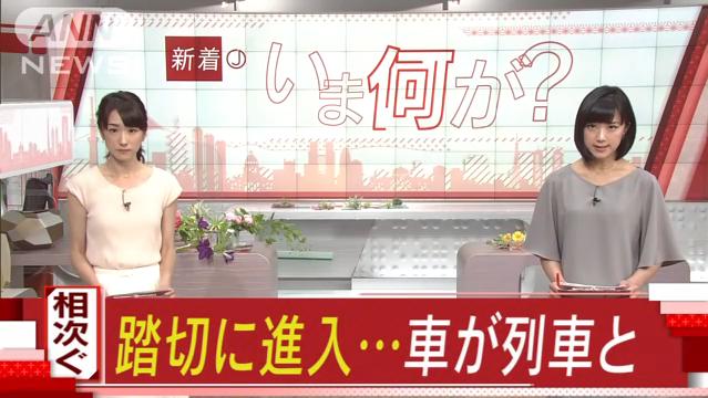 2017.5.15 犬山線人身事故(テレ朝news) (1)