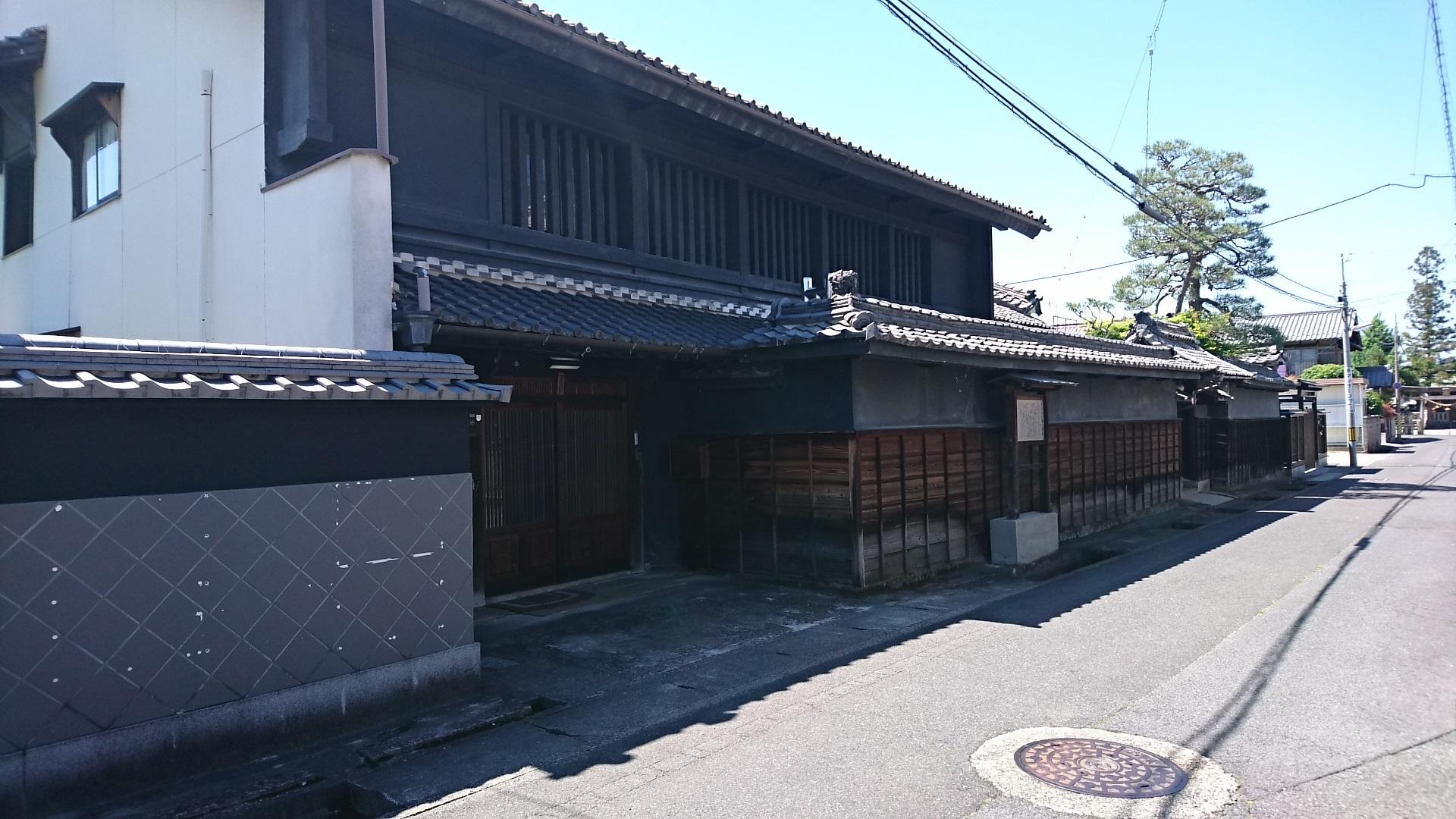 2017.5.19 大井 (55) 中山道 - 大井村庄屋古屋家 1920-1080