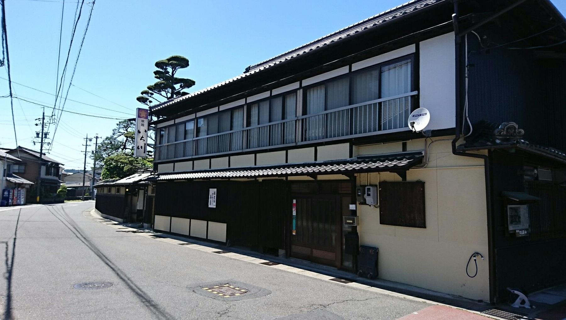 2017.5.19 大井 (56) 中山道 - 旅館いち川 1800-1020