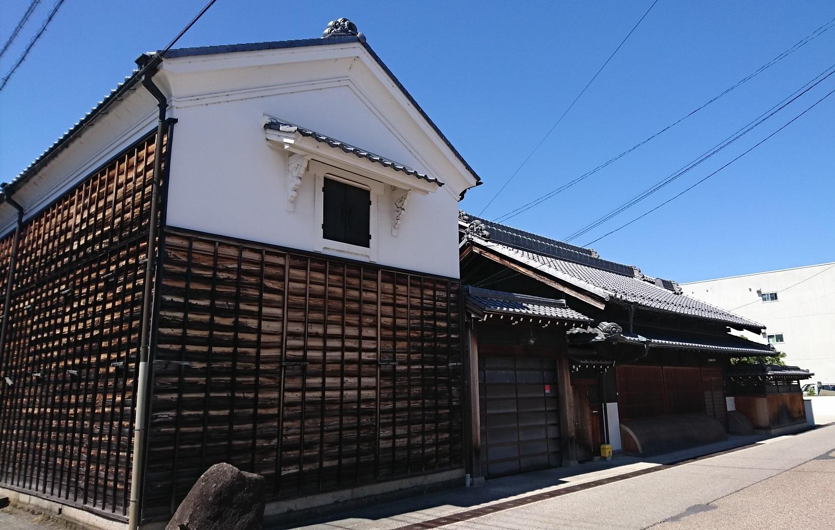 2017.5.19 大井 (60) 中山道 - 民家 1700-1080