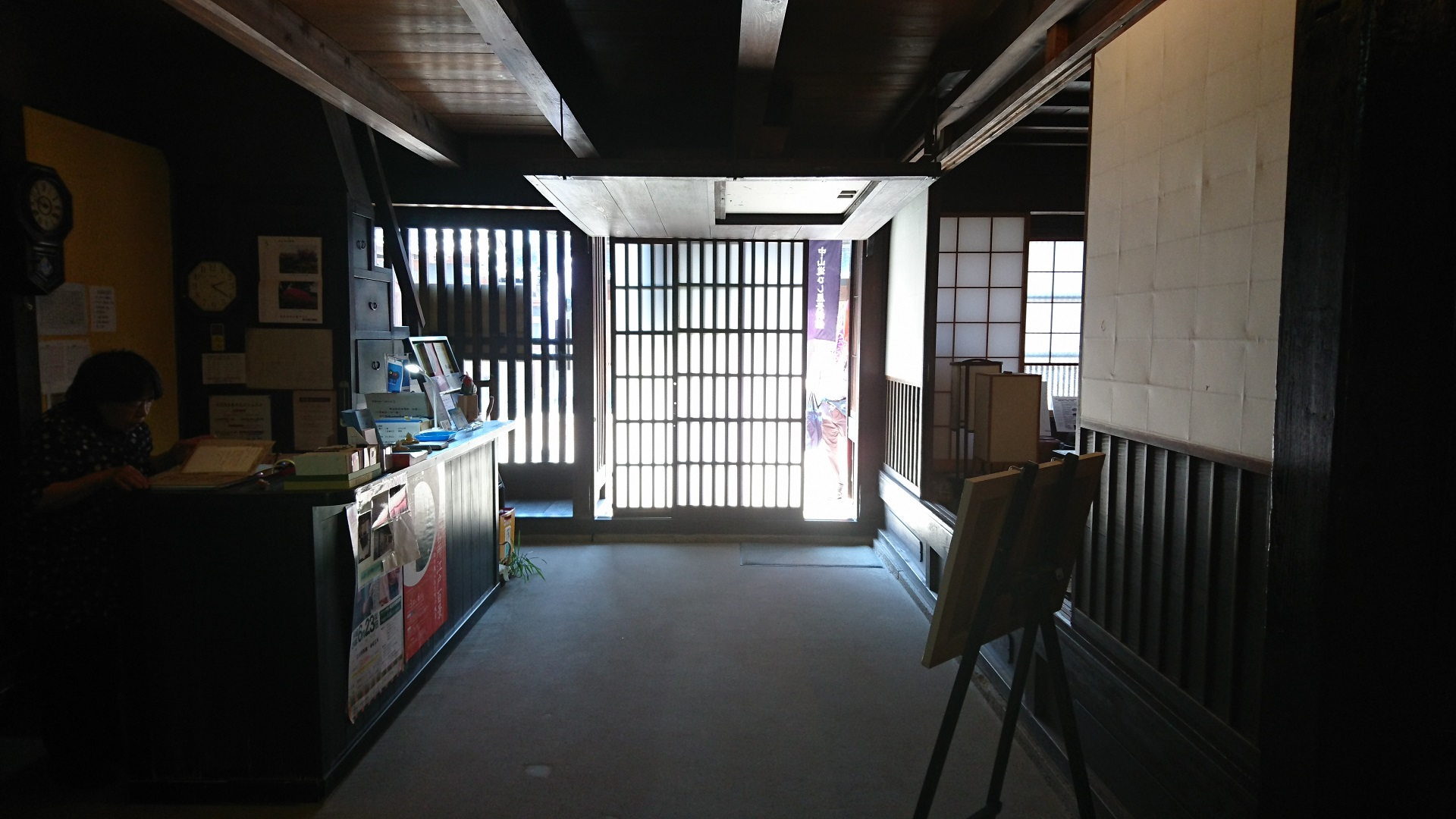 2017.5.19 大井 (69) 中山道ひし屋資料館 - 玄関(はねあげおおど) 1920-1080