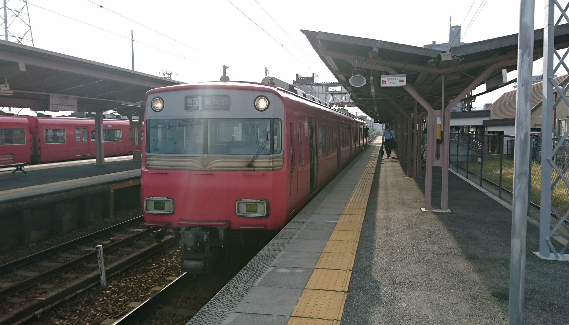 2017.5.21 (7) 矢作橋 - 東岡崎いきふつう 1890-1080