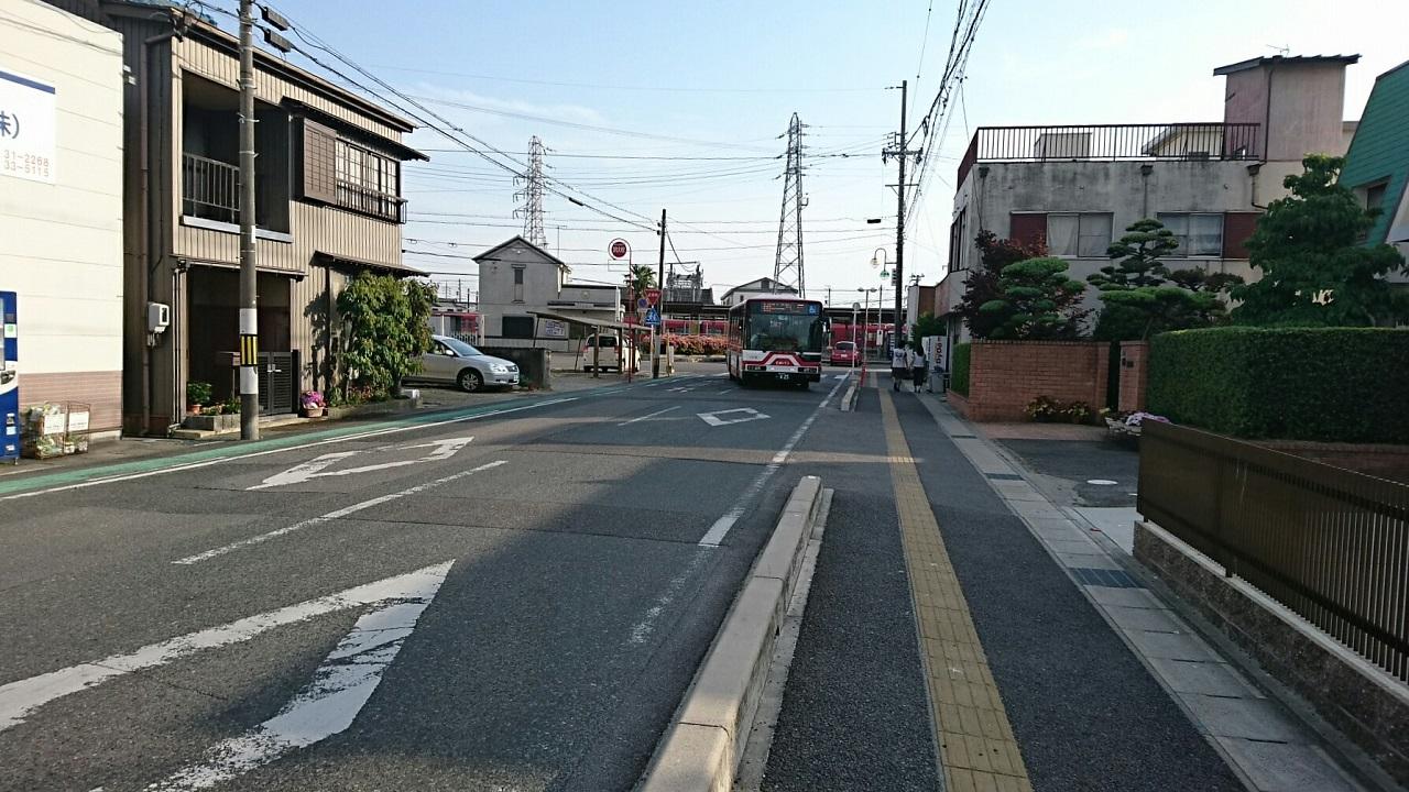 2017.5.21 (12) 矢作橋駅 - 坂戸いきバス 1280-720