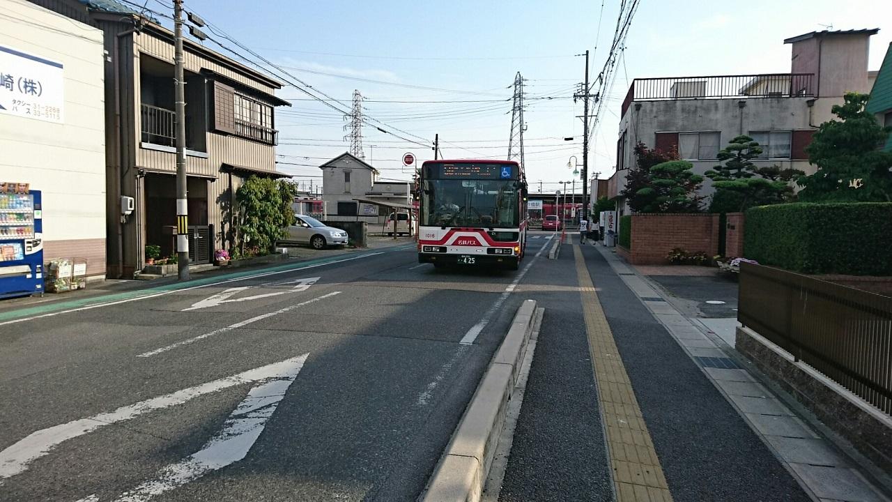 2017.5.21 (13) 矢作橋駅 - 坂戸いきバス 1280-720
