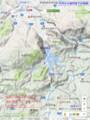 大井から岩村までの地図(あきひこ)