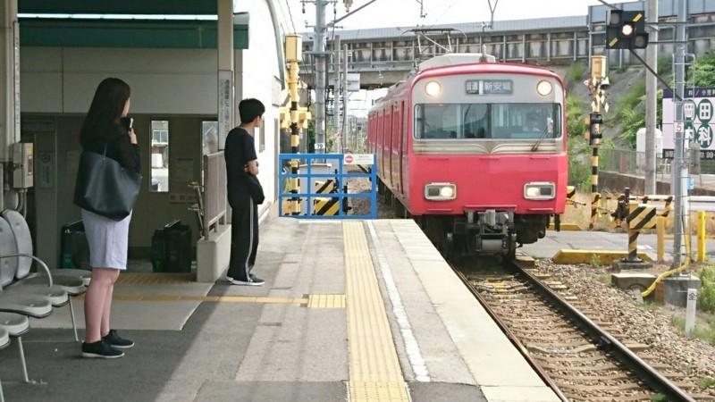 2017.6.24 東岡崎 (2) 古井 - しんあんじょういきふつう 1280-720