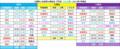 江南駅と布袋駅の時刻表【平日】犬山方面=2017年7月現在