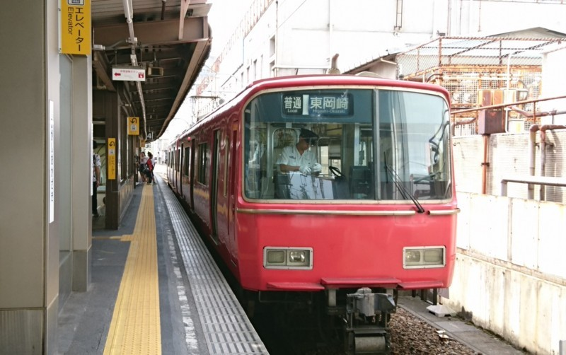 2017.7.16 名鉄 (27) 東岡崎 - 東岡崎いきふつう