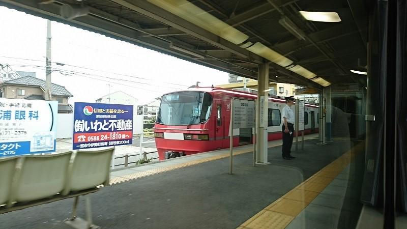 2017.8.3 笠松 (1) 岐阜いき特急 - 新木曽川(岐阜いきふつう) 800-450